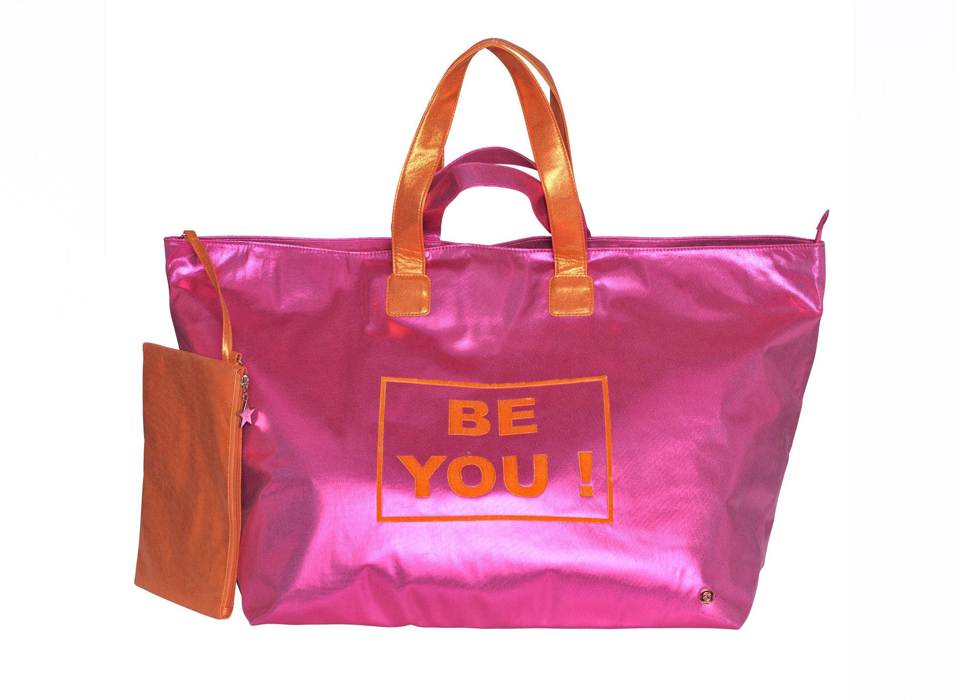 Große Shoppingbag - BE YOU