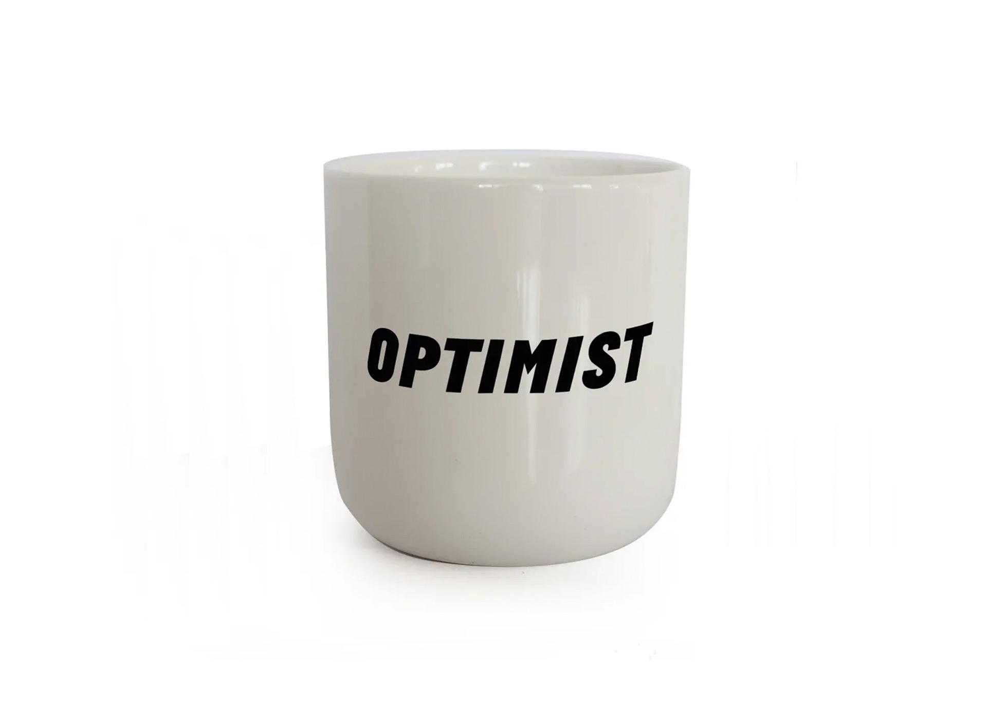 Porzellanbecher - Optimist