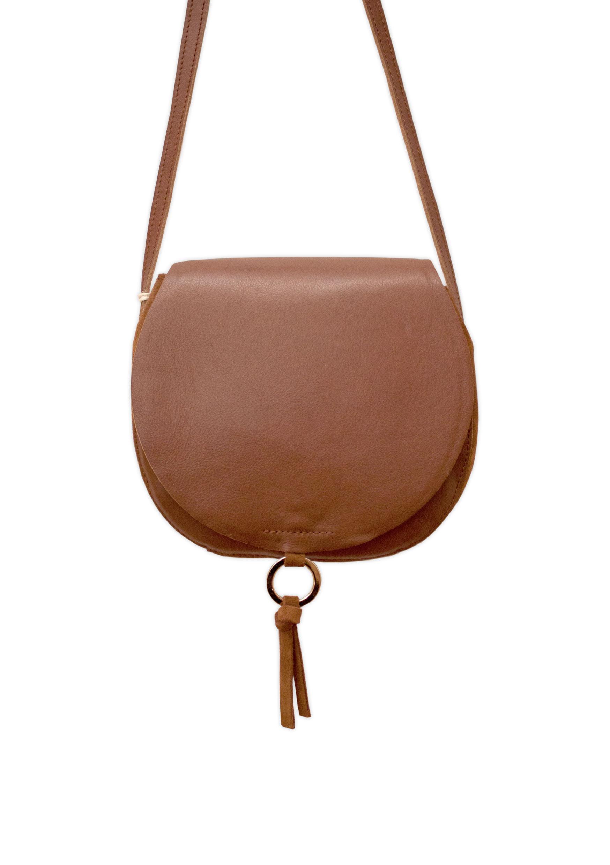 Luna Saddle bag brown Ann Kurz