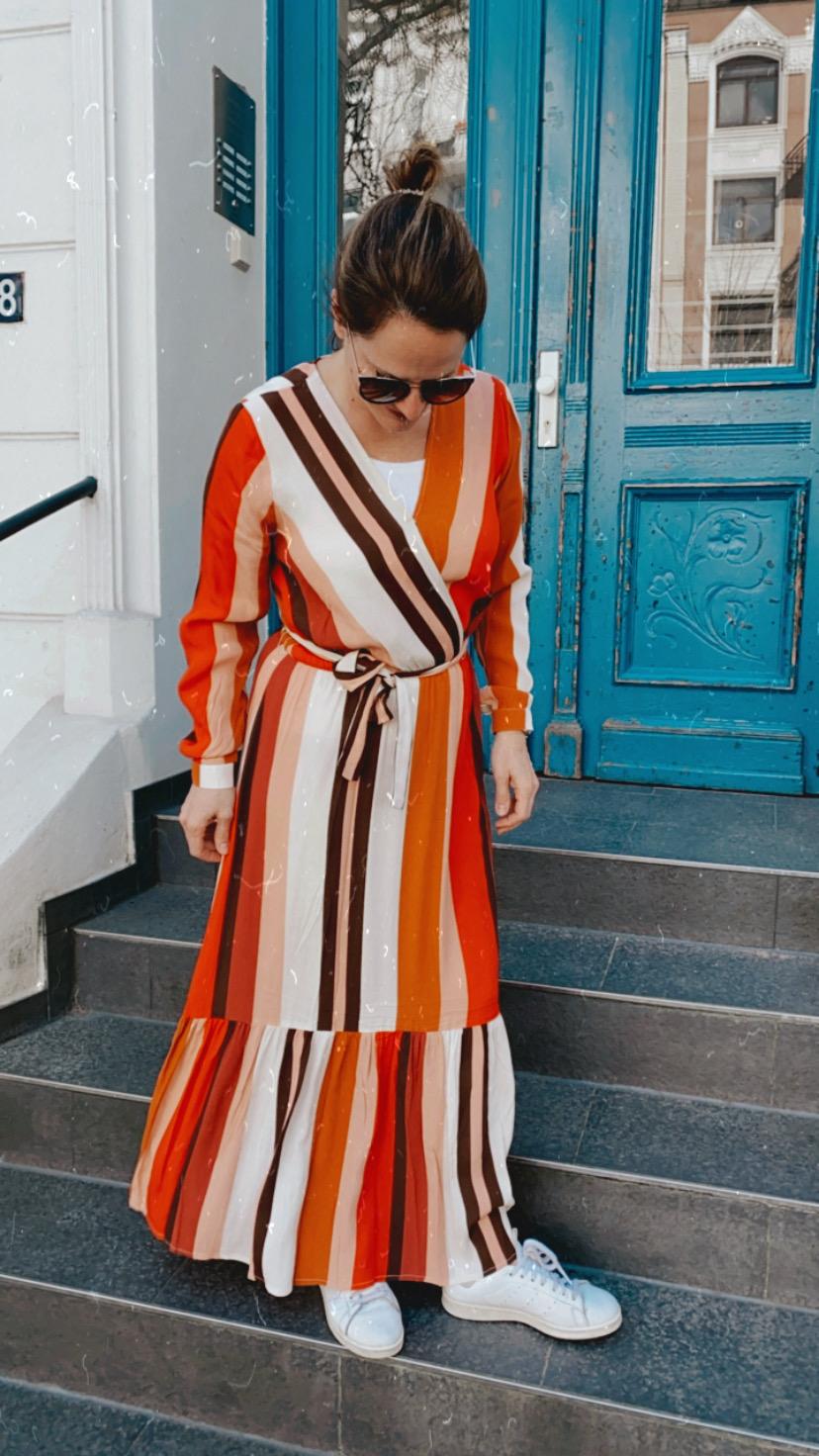Freequent Kleid in Mischfarben