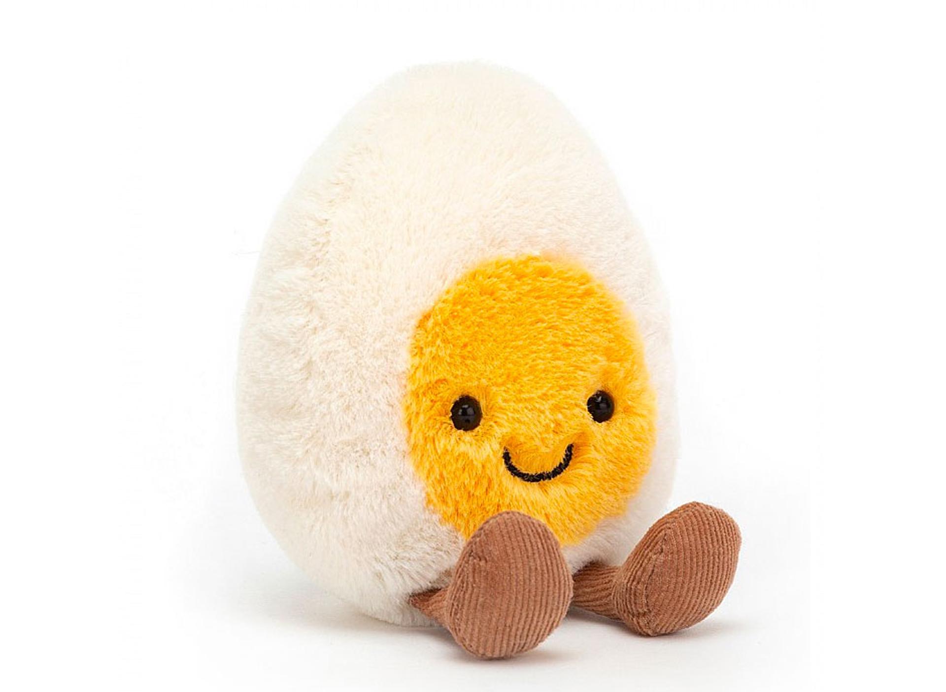 Funny Boiled Egg