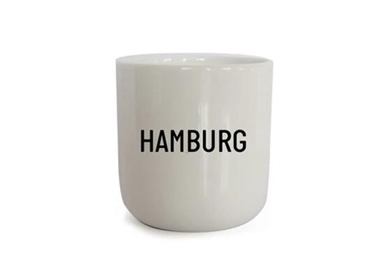 Porzellanbecher - Hamburg