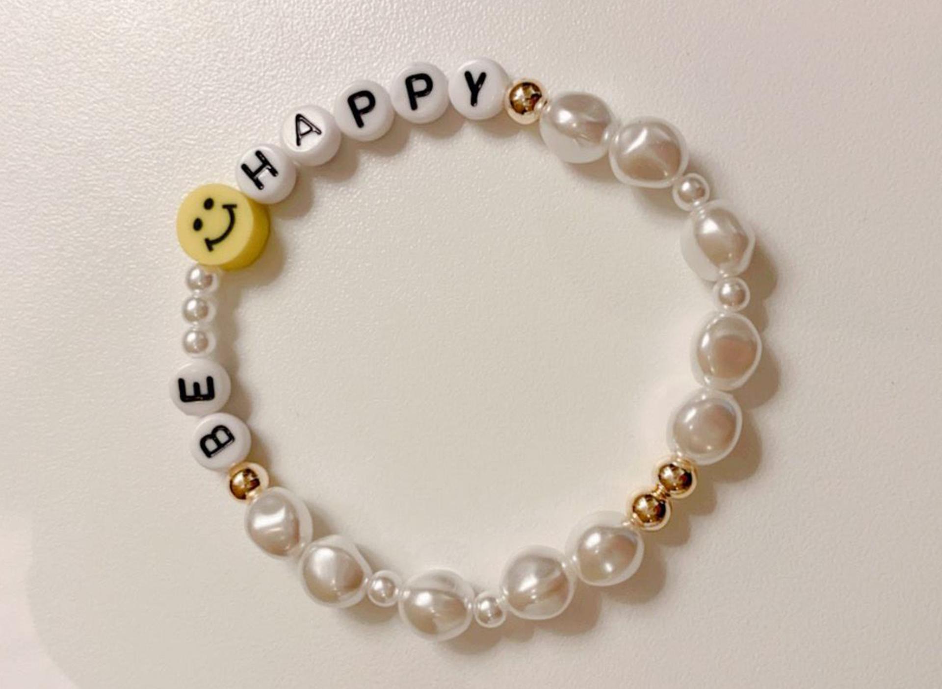"""Armband - """"Be Happy"""""""