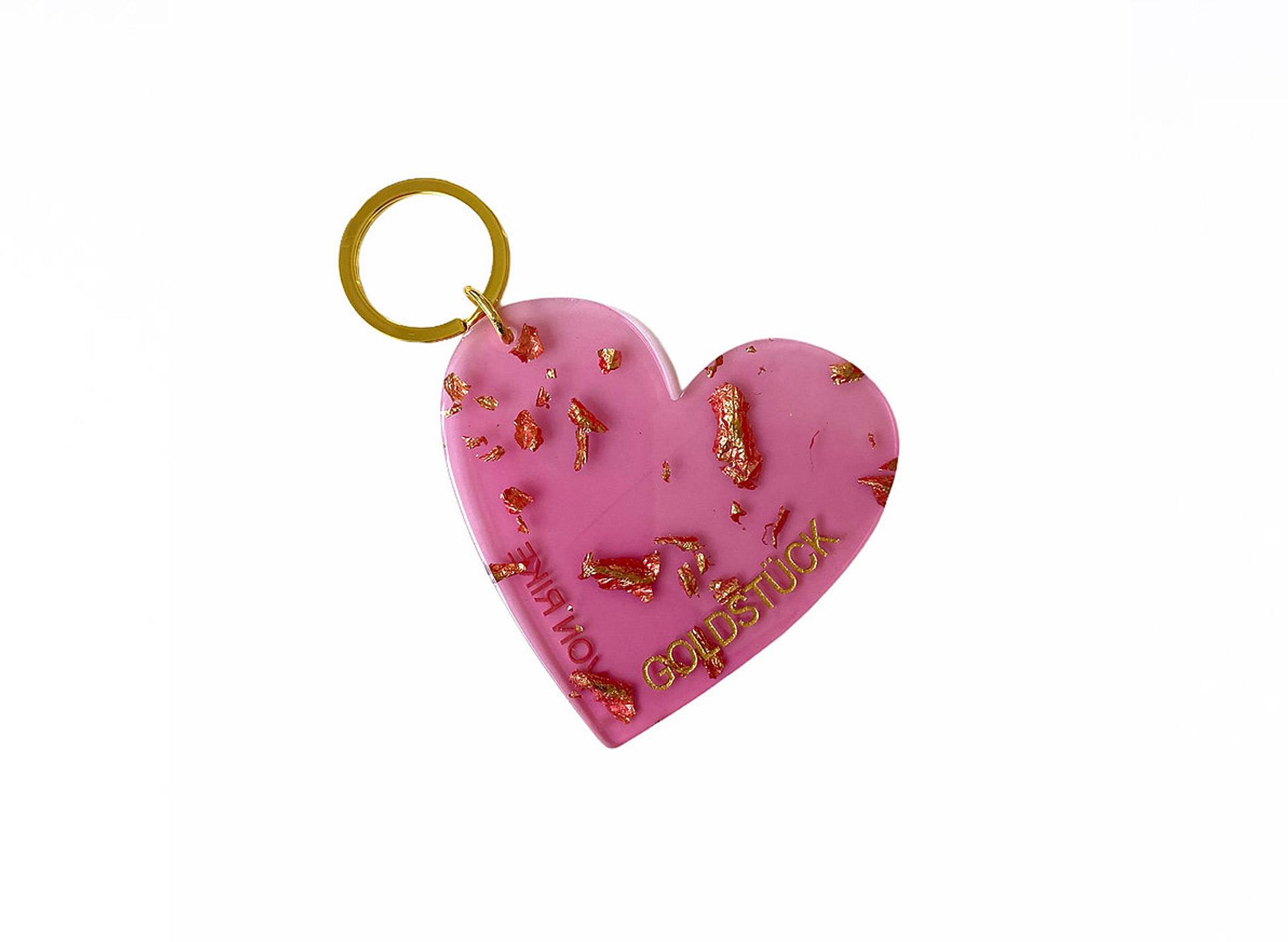 Schlüsselanhänger - Goldstück