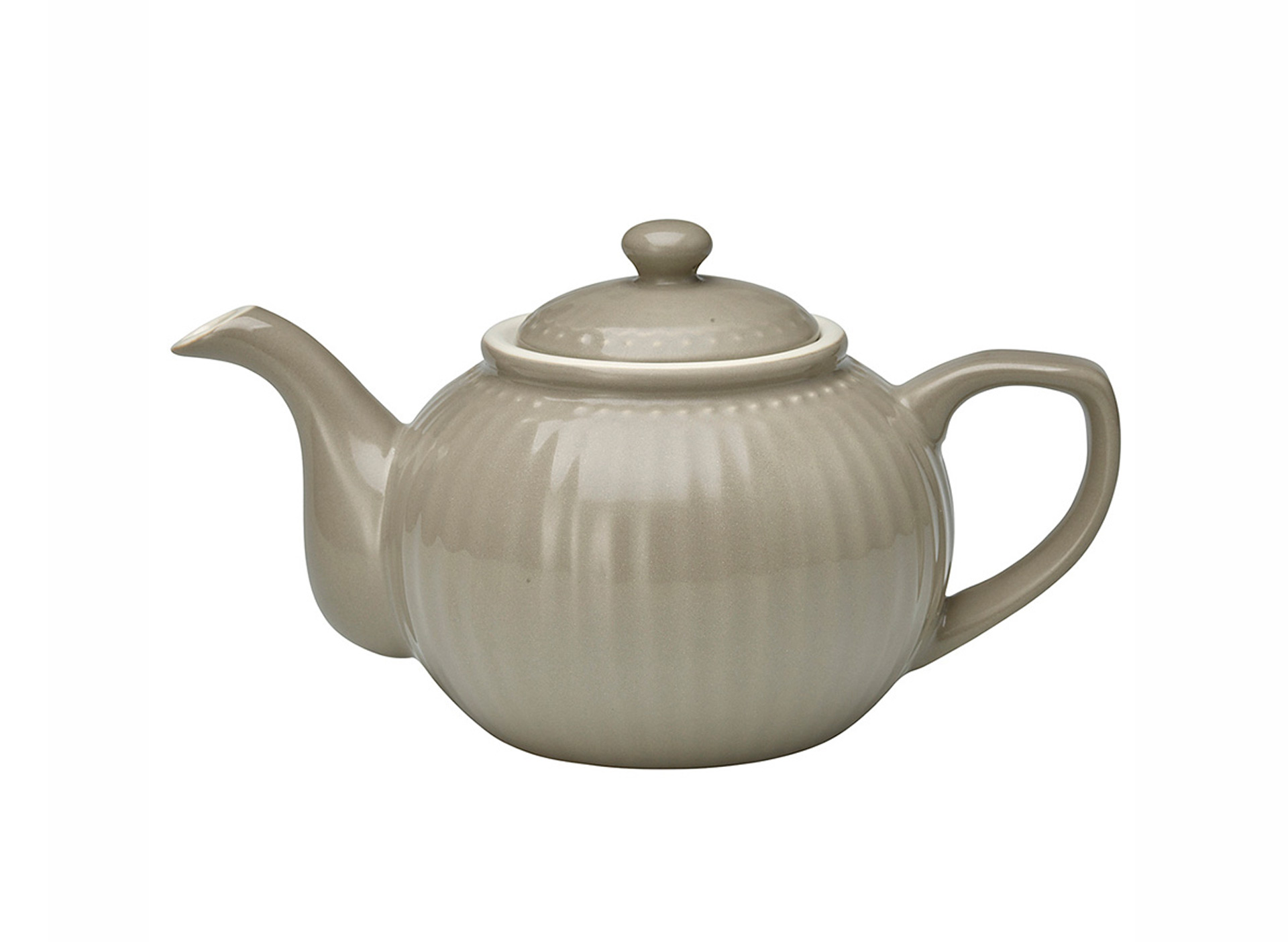 Teekanne Alice - warm grey
