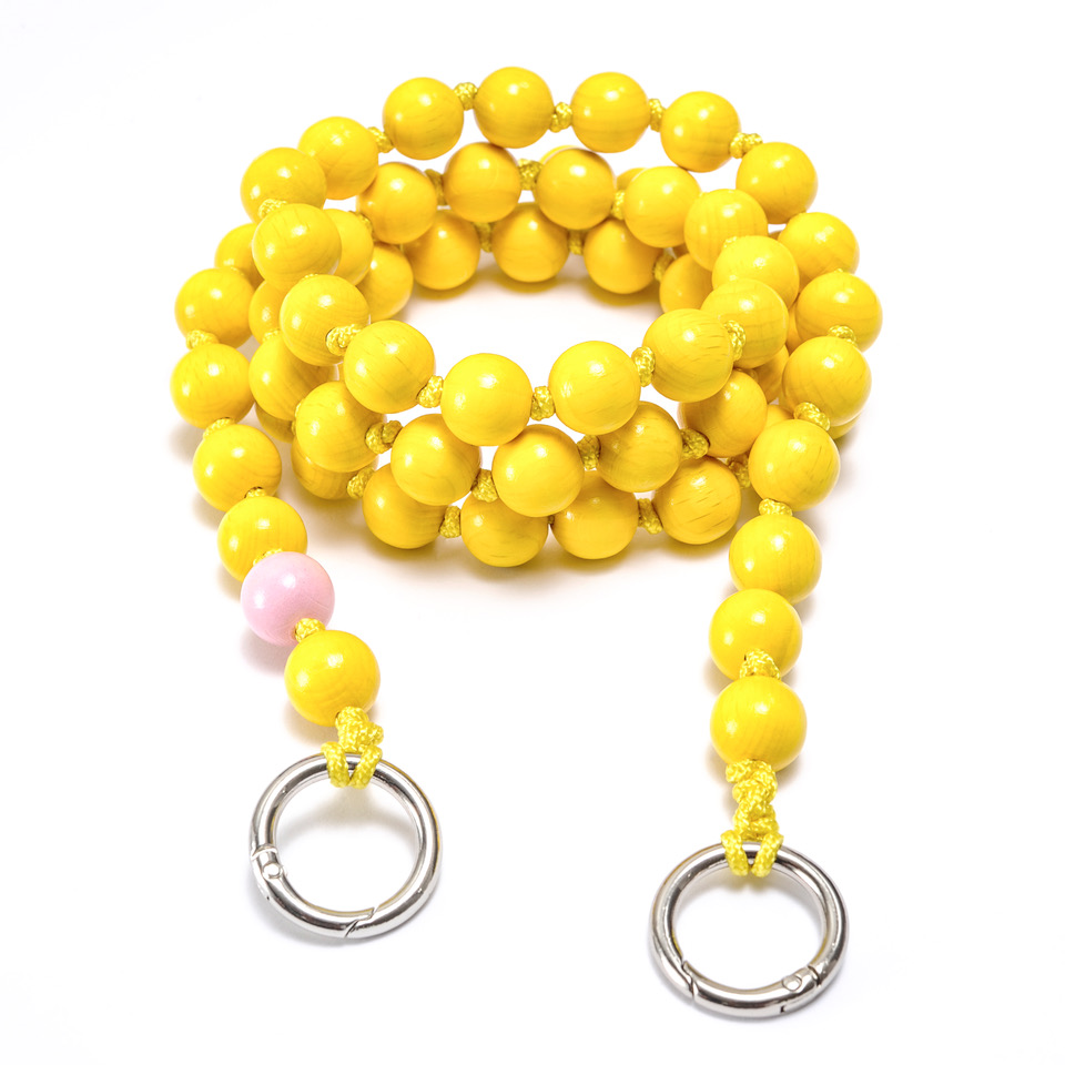 Upbeads Handykette Yellow Star