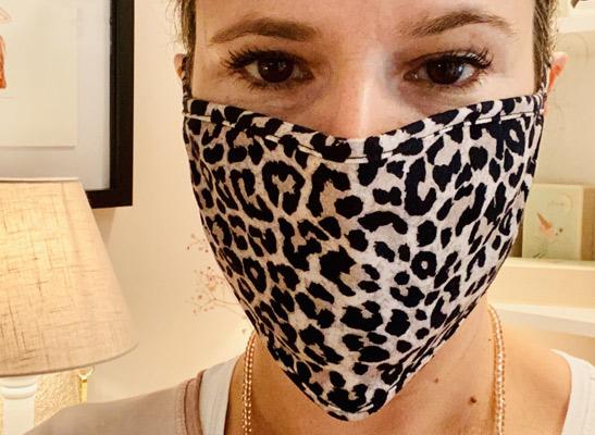 Leo-Gesichtsmaske