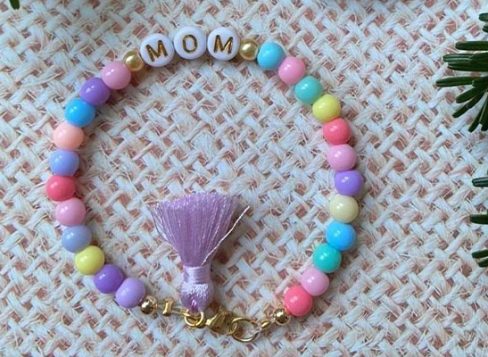 Buchstaben Armband - MOM