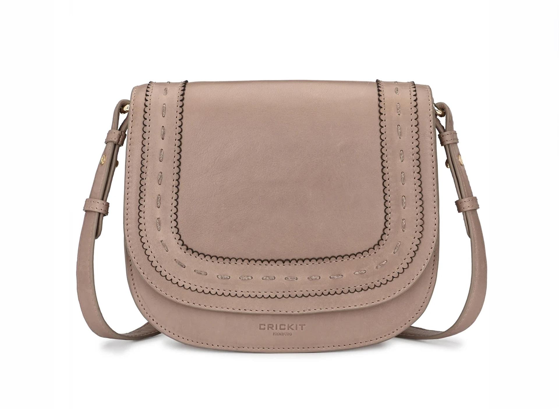 Saddle bag - taupe