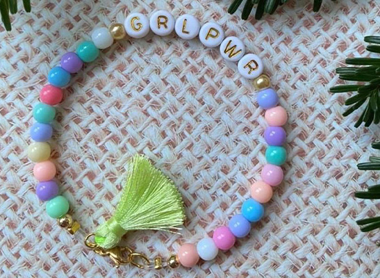 Buchstaben Armband - GIRL POWER