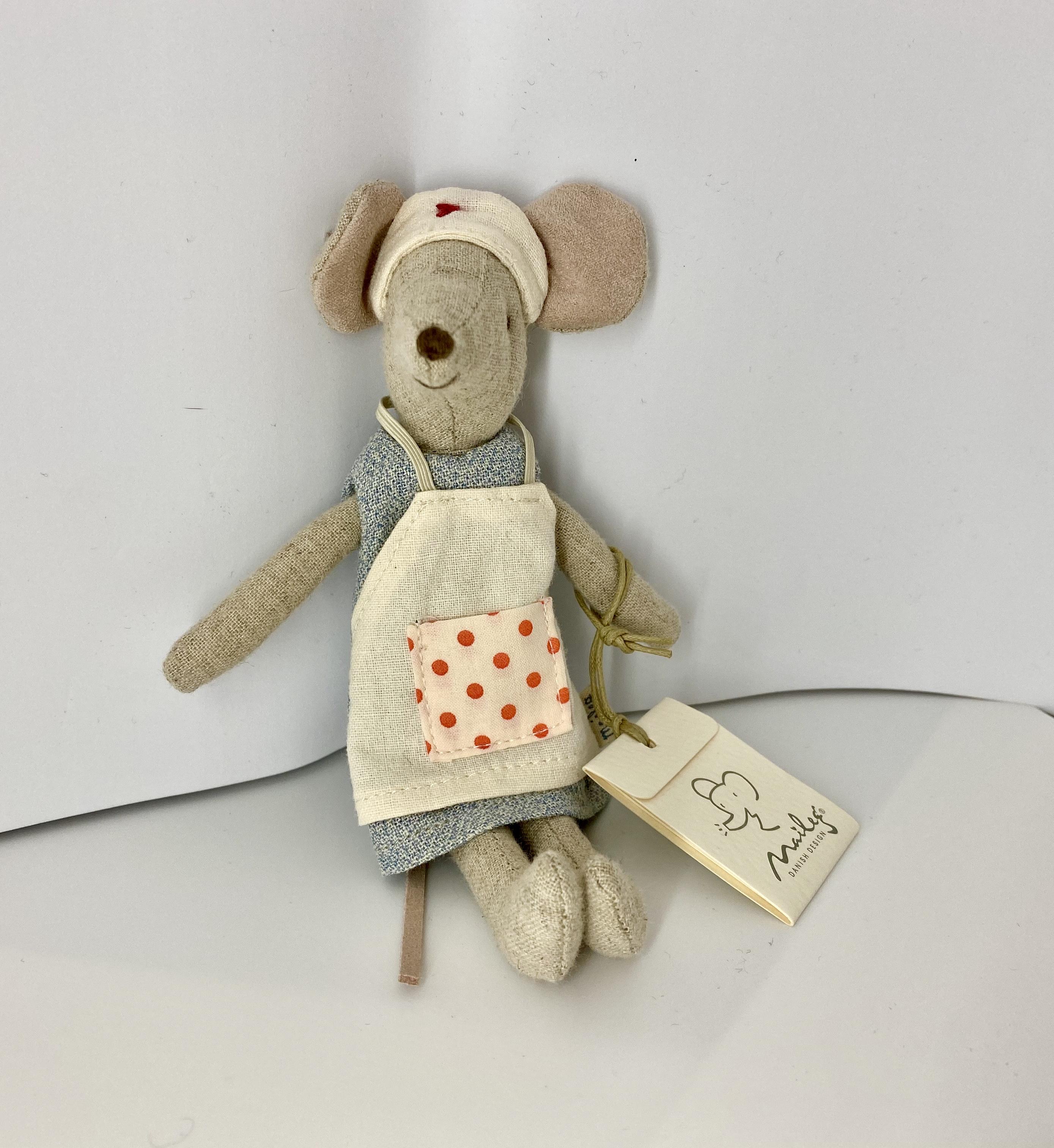 Maileg Nurse Mouse Krankenschwester Maus
