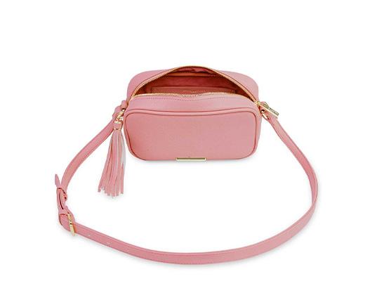 'Sophia Tassel' Crossbody Bag - rosa