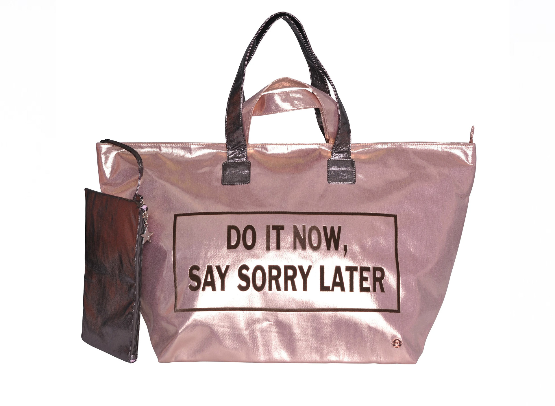 Große Shoppingbag - DO IT NOW, SAY SORRY LATER